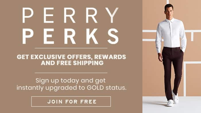 Perry Ellis 60% off Sale + 20% off  W/ Coupon + Free S/H for perk members with $50+
