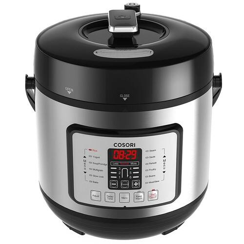 Cosori 6 Quart Programmable Slow Cooker w/ Recipe Book $55