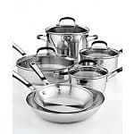 Macy's Extra 40% off Home Clearance from 12-2PM EST - Simply Calphalon 10pc Set $72 + tax, shipping