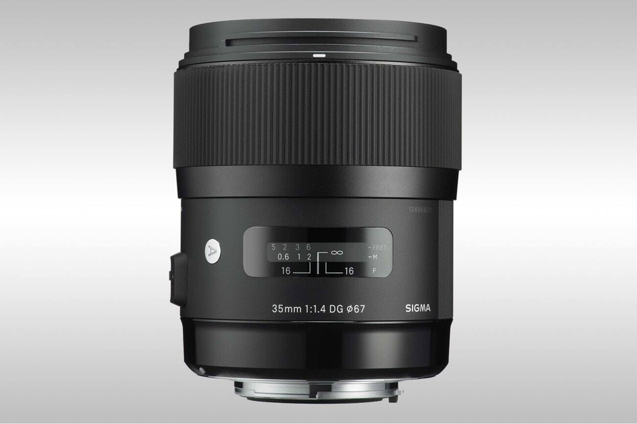 Sigma 35mm f/1.4 DG HSM Art Lens $679.99