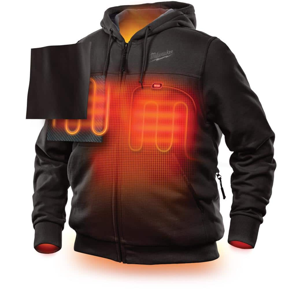 STILL ALIVE! MILWAUKEE Heated Hoodie (Hoodie only) @ ACME Tools + A free battery from Milwaukee $86