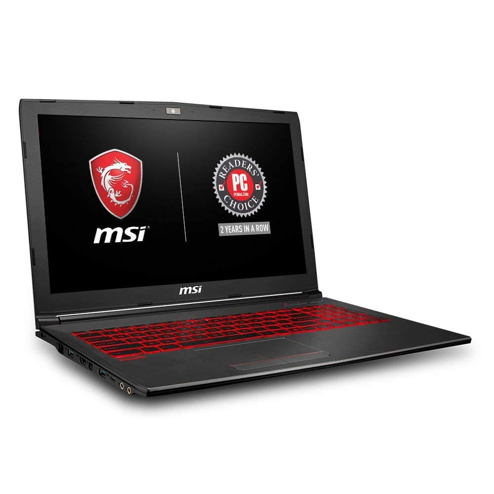 "MSI GV62 15.6"" IPS Gaming Laptop, GTX 1050 Ti , i7-8750H, 8 GB Memory, 128 GB SSD, 1 TB HDD, Win 10H + F/S $743.07 Amazon Warehouse Lower with Amazon Card"