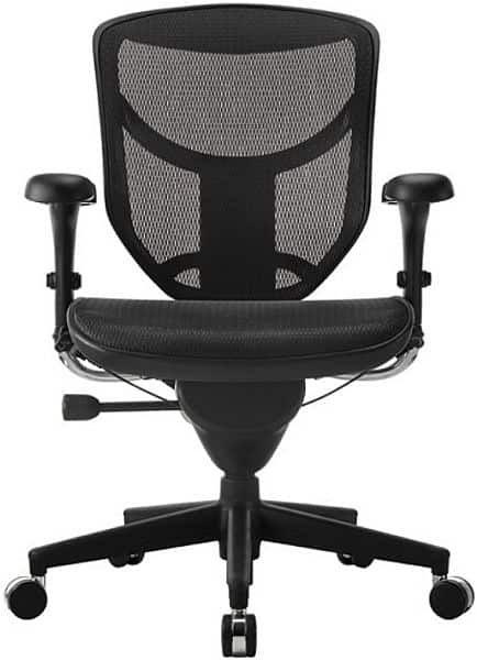 WorkPro Quantum 9000 Series Ergonomic Mesh Mid-Back Office Chair, Black for $176 with FREE SHIPPING, or extra 5% off in-store pick up at $165