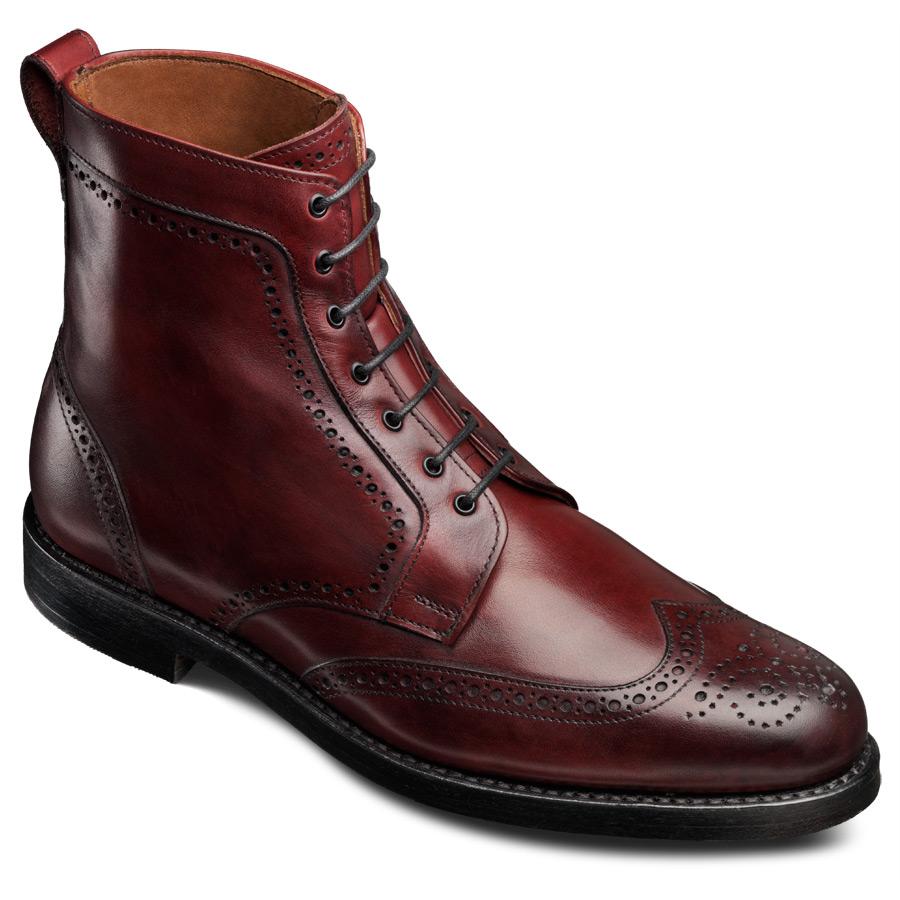 c70ba54c92d Allen Edmonds Dalton Wingtip Dress Boots - $117 - Slickdeals.net