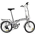 "Stowabike 20"" City Bike Compact Folding 6 Speed Bicycle - $129.99 FS"