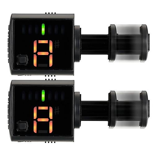 Korg 2-Pack Griptune Headstock Tuner Kit Black - $11.99 FS (reserve now)