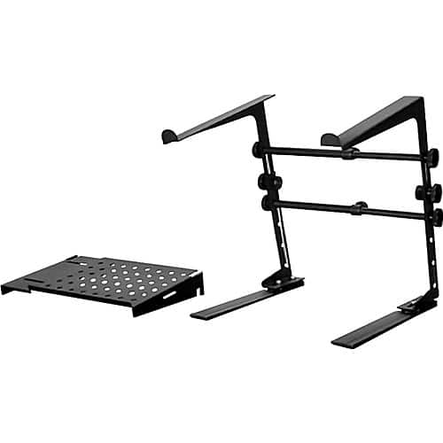 DR Pro DJ Laptop Stand and Shelf Bundle Black - $19.99 deal of the day FS