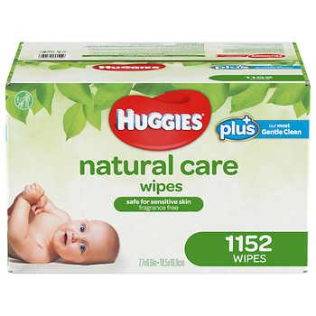 Costco - Huggies Natural Care Plus Wipes 1,152-count - $19.99 FS