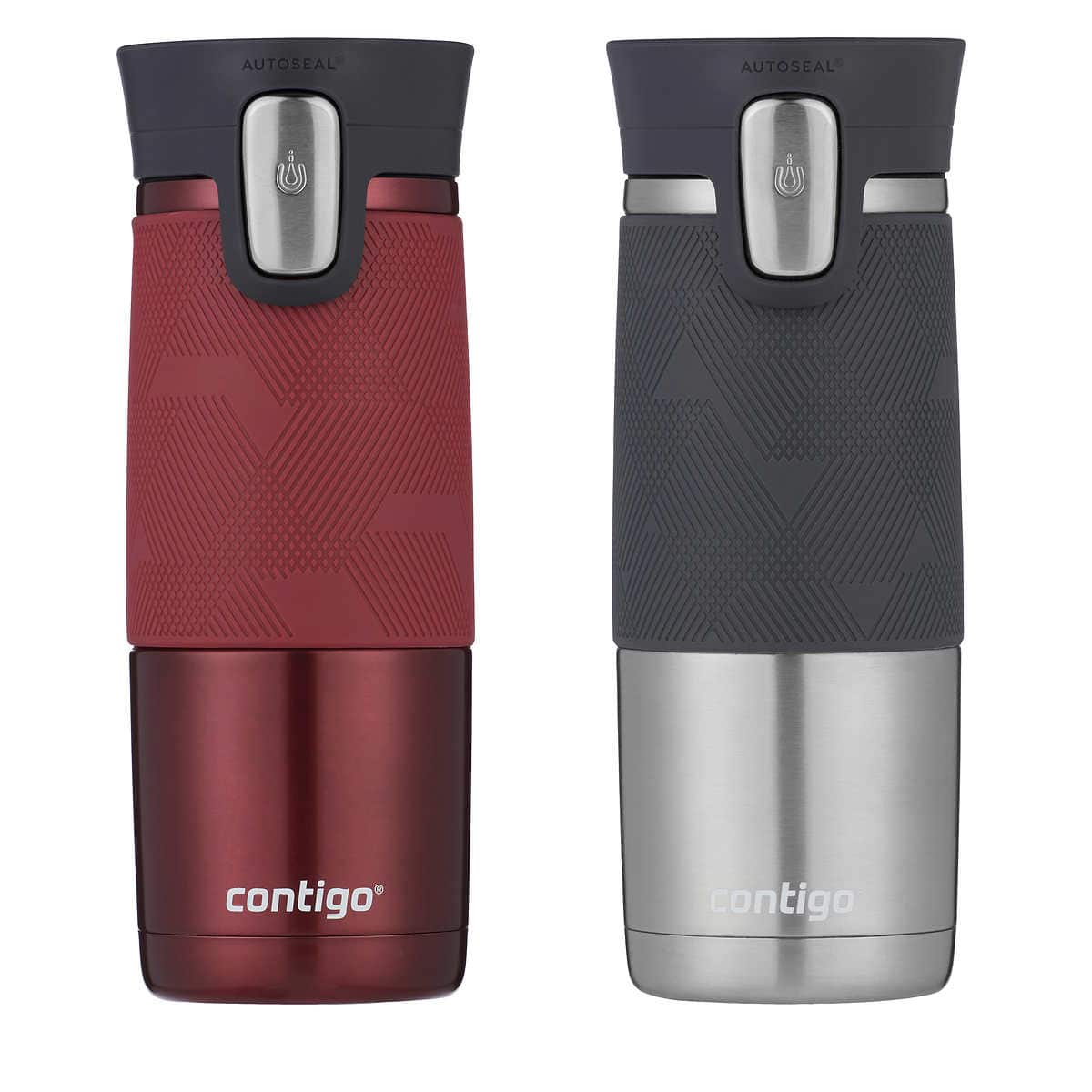 Costco - Contigo thermal travel mug  autoseal 16oz - 2 pack - $9.97 YMMV (Clearance)