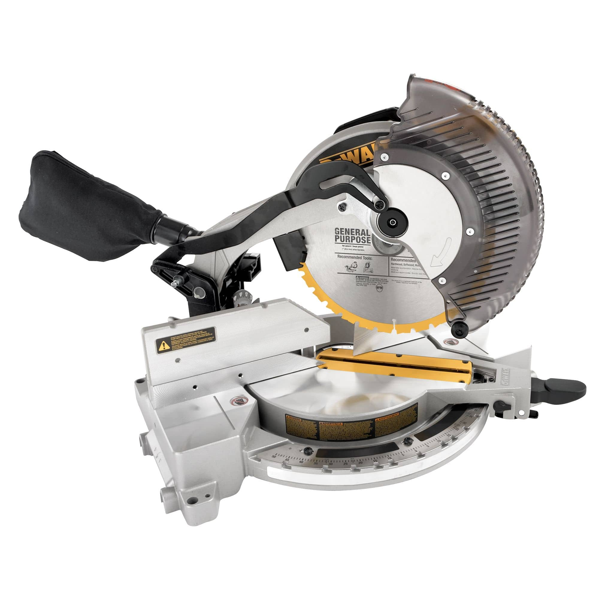 "Dewalt 12"" Single - Bevel Compound Miter Saw DW715 for $199  @Sears"