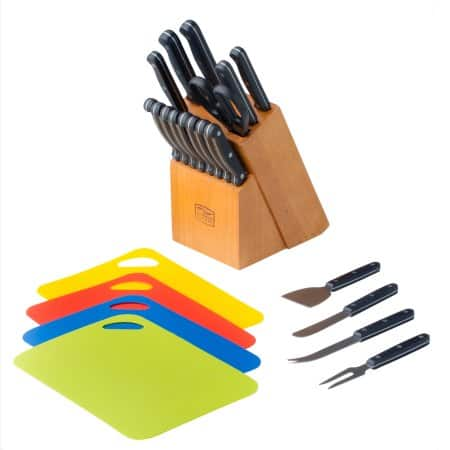 Chicago Cutlery Essence 23-Piece Block Set for $19 walmart store pick up only YMMV