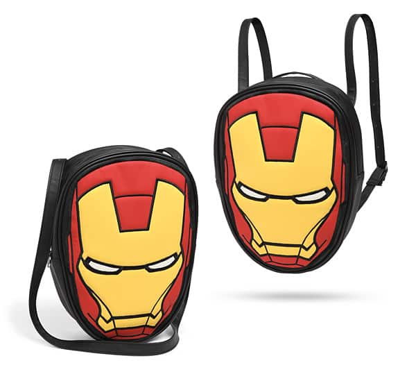 Marvel Iron Man Convertible Backpack for $3 $2.99