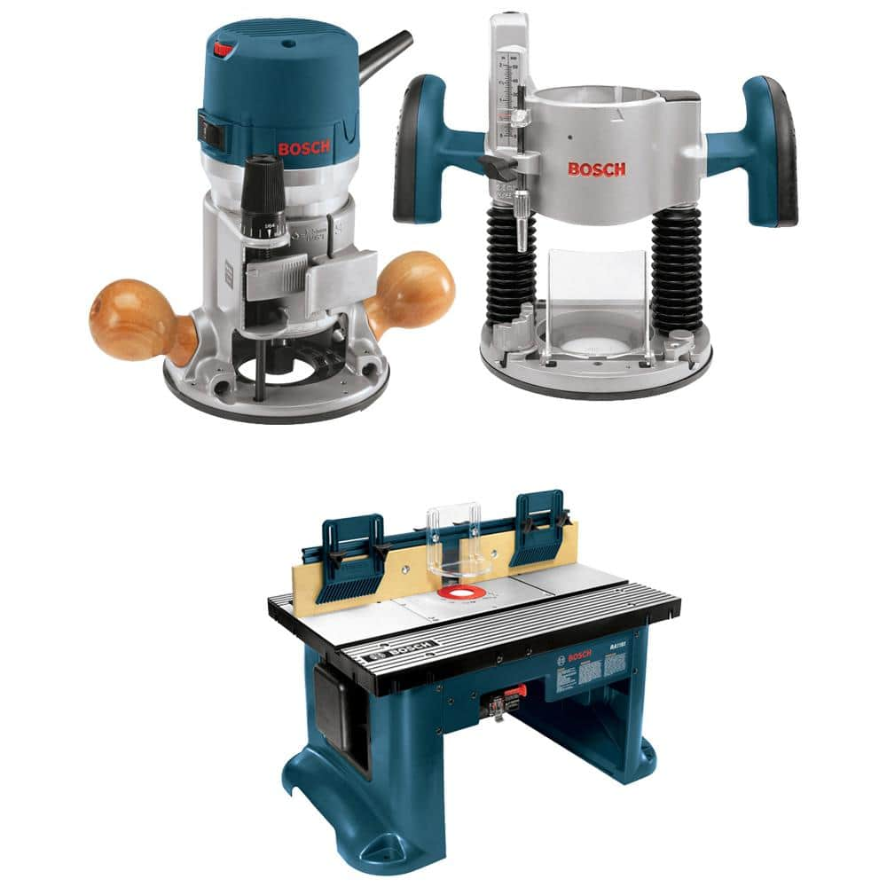 Bosch Aluminum Top Table and Router $279 in Cart