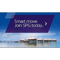 Deal: Earn 200 free SPG points YMMV