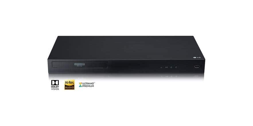 LG UBK90 4k UHD Blu Ray Player (refurbished) from Woot $99.99