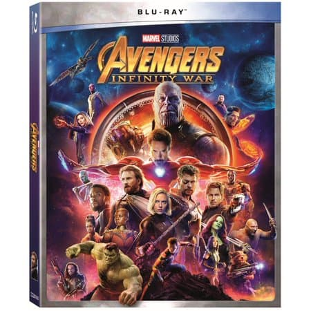 Marvel S Avengers Infinity War Dvd Blu Ray Prices Updated