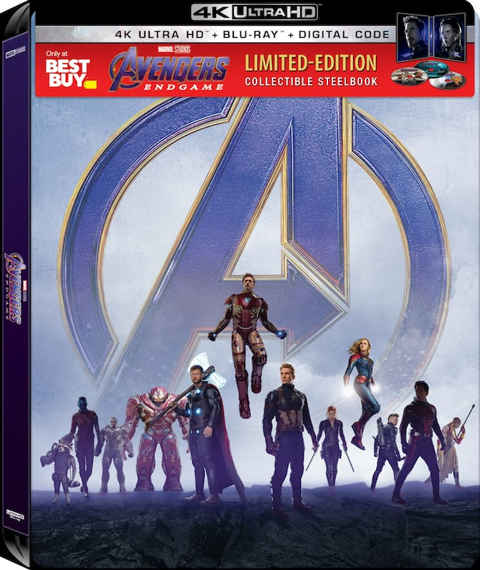 Marvel's Avengers: Endgame DVD, Blu-Ray & 4K Ultra HD [PRICES UPDATED] - best prices, special features and compilation list of ALL retailer exclusives and deals!