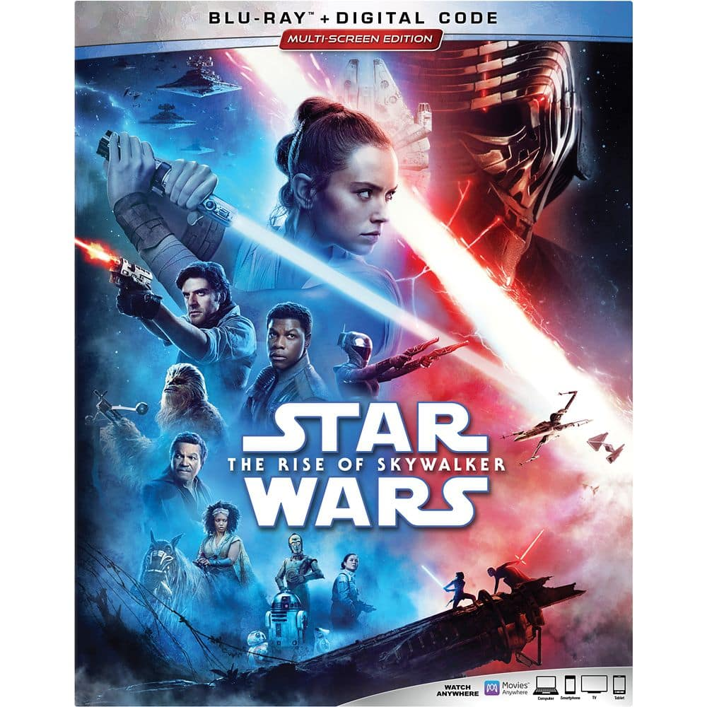 Star Wars: The Rise of Skywalker DVD, Blu-Ray & 4K Ultra HD [PRICES UPDATED] - best prices, special features and compilation list of ALL retailer exclusives and deals!