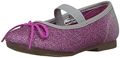 Carters and OshKosh little girl shoes starting at $5 Amazon free Prime shipping $5.19