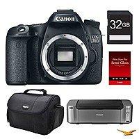 BuyDig Deal: Canon EOS 70D DSLR Camera, 32GB, Printer Bundle $698 (Body),  $798 (18-55mm STM), or $998  (18-135mm stm) AR