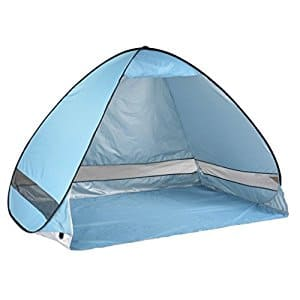 Oversized Pop UP Beach Tent (2-3 person) $22.99 @Amazon FS  sc 1 st  Slickdeals : beach tents amazon - memphite.com