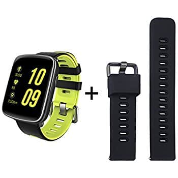 GV68 Smart Watch IP68 Waterproof with Sports Wristband w Heart Rate Monitor (Android & iOS) $28.50 AC @Amazon