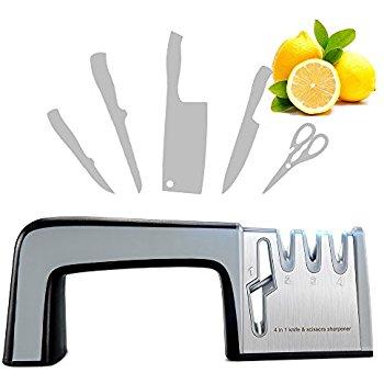 4-in-1 Multi-functional Knife Sharpener Scissor Sharpener $9.99 AC @ Amazon FS/Prime