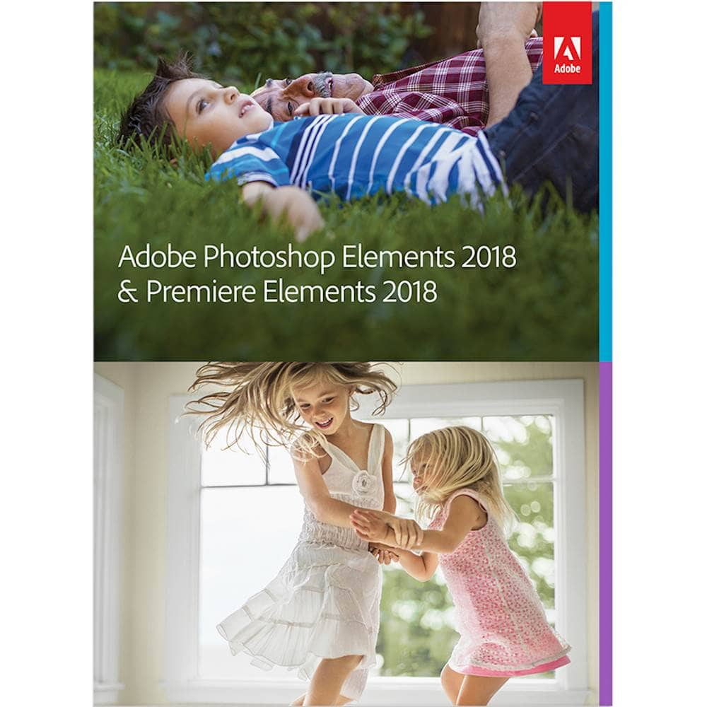 Adobe Photoshop Elements 2018 & Premiere Elements 2018 - Mac|Windows @79.99 @Bestbuy FS $80