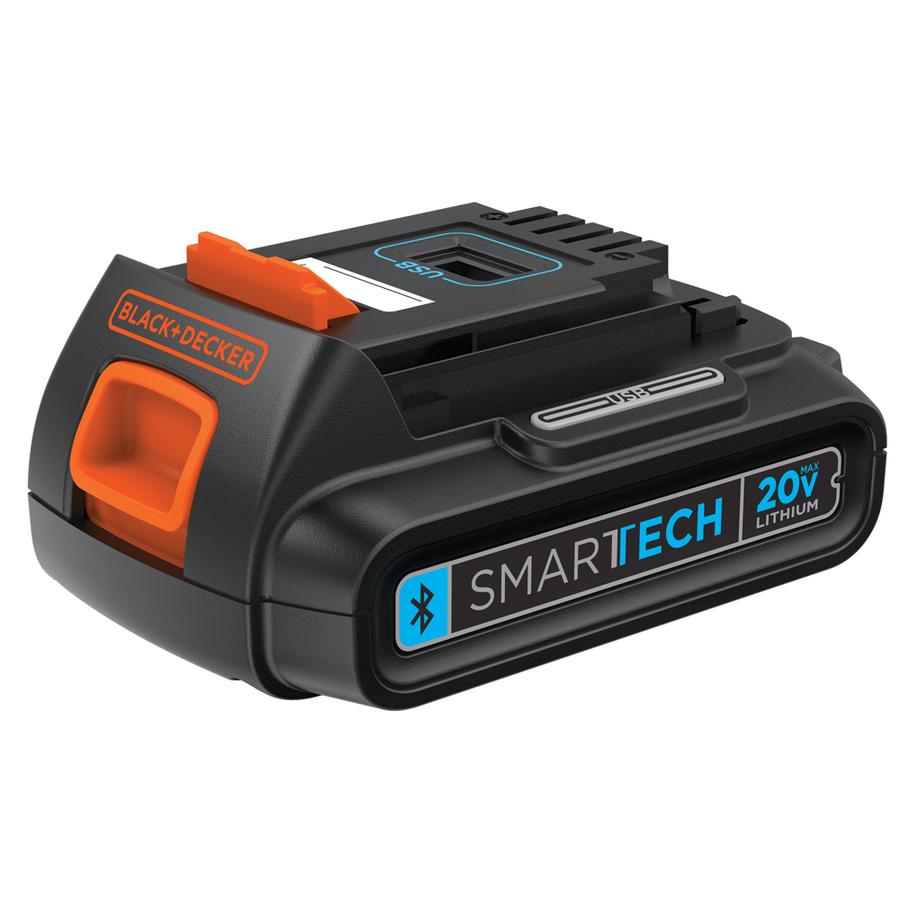 BLACK & DECKER 20-Volt 1.5-Amp Hours Lithium Power Tool Battery $9
