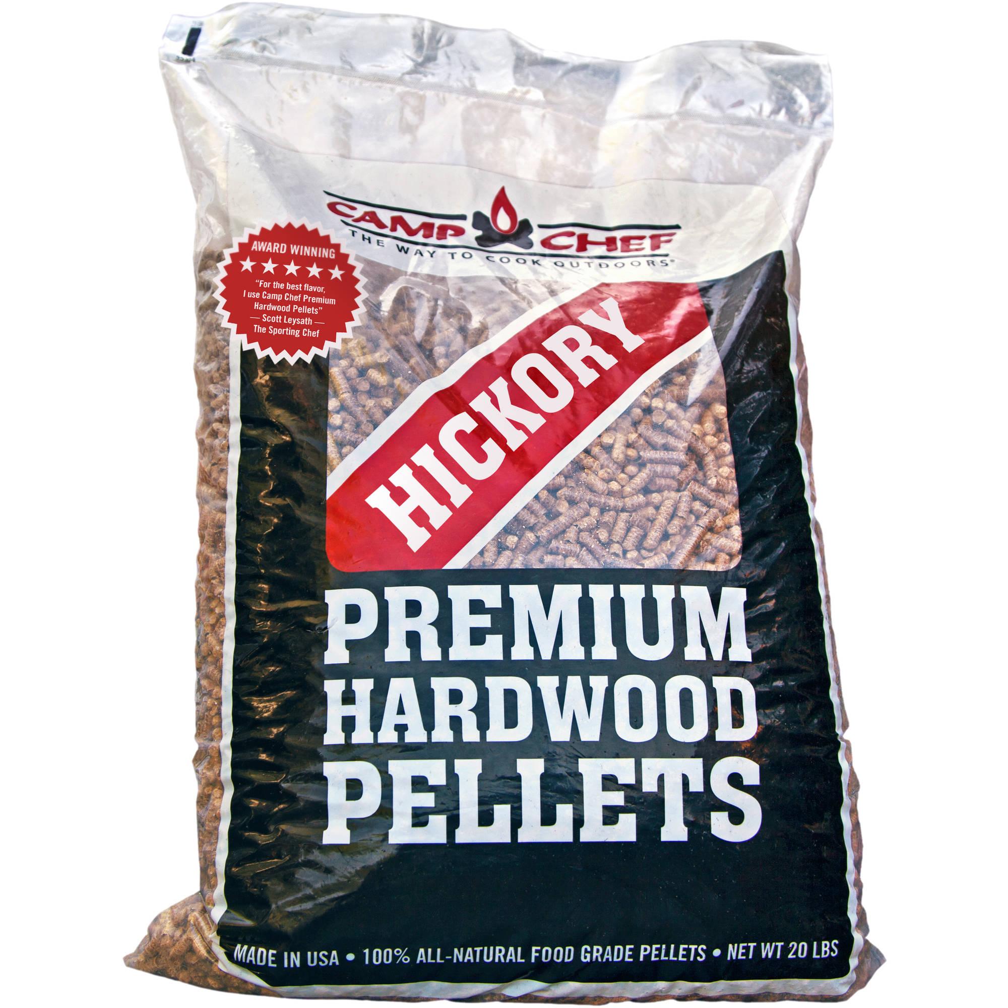 Camp Chef Hickory Premium Hardwood Pellets 20 lbs $9.23