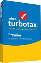Turbotax Premier 2017 Download only $24.00