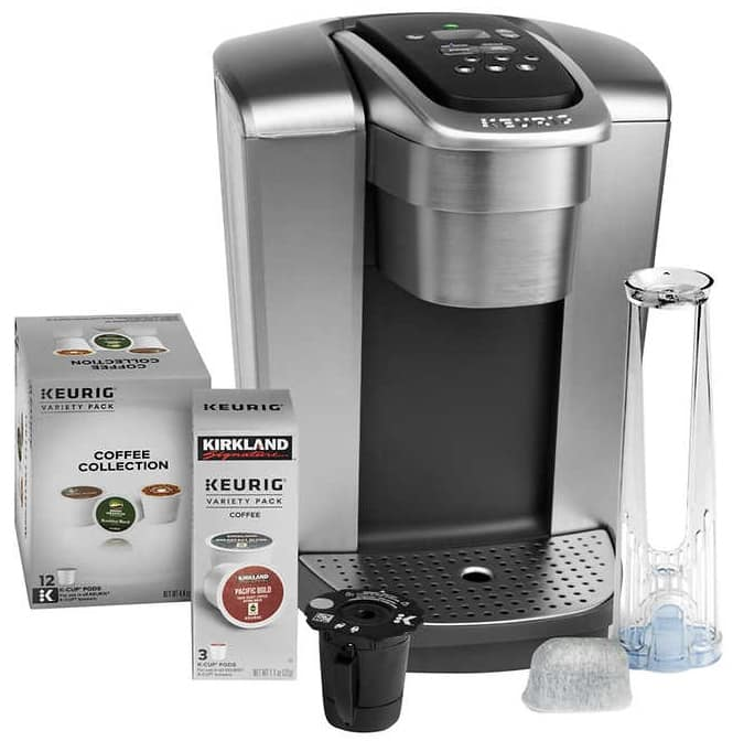Keurig K-Elite C Single Serve Coffee Maker, 15 K-Cup Pods and My K-Cup Reusable Coffee Filter - $99.99