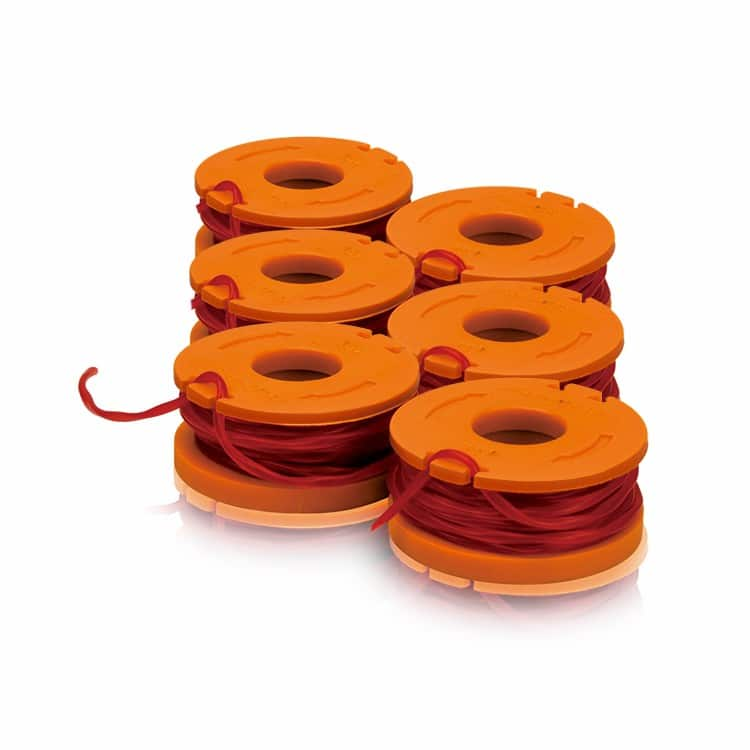 Six spools of Worx edger/trimmer - only shipping fee