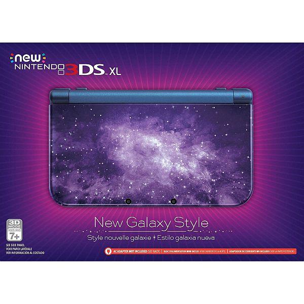 Nintendo Galaxy & Black 3DS XL - $179 at Walmart.com reg. $199.96