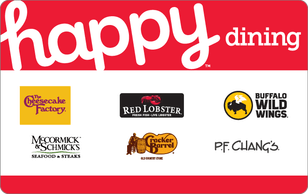Happy Gift Cards 20% off at Discover Cashback Portal works at Macy's, Ulta, Chili's, Red Lobster, PF Changs, Lowe's, Gamestop and more