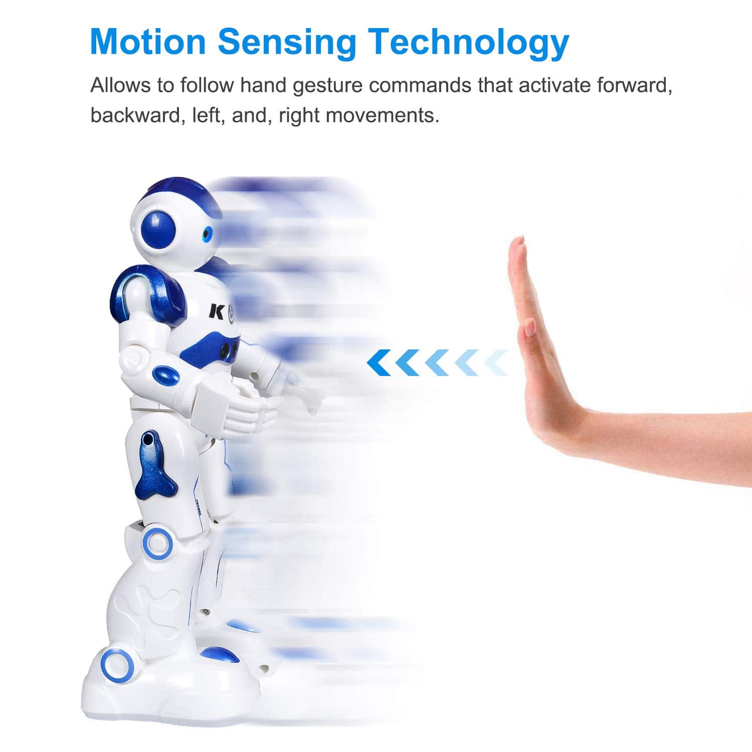 RC Robot Toy Programmable Intelligent Walk, Sing, and Dance Robot for Kids - Free shipping with Prime $21.59