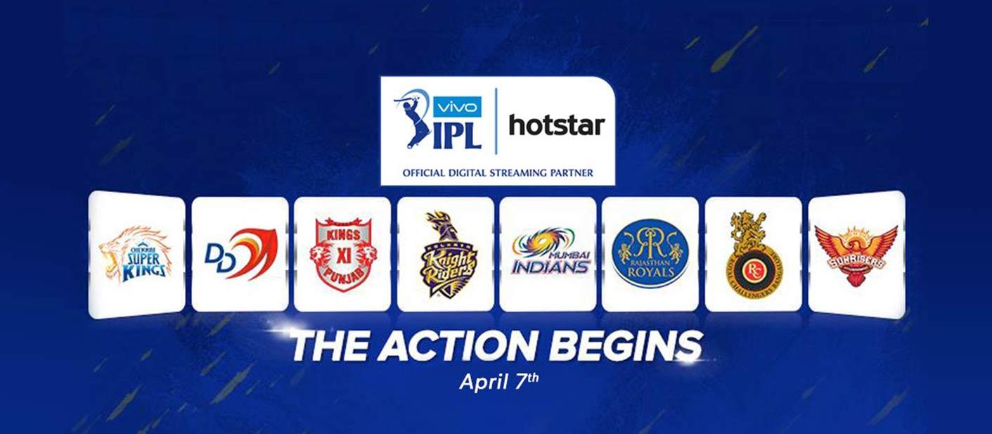 Hotstar: 2-Months TV Streaming Service w/ VIVO IPL 2018 Cricket