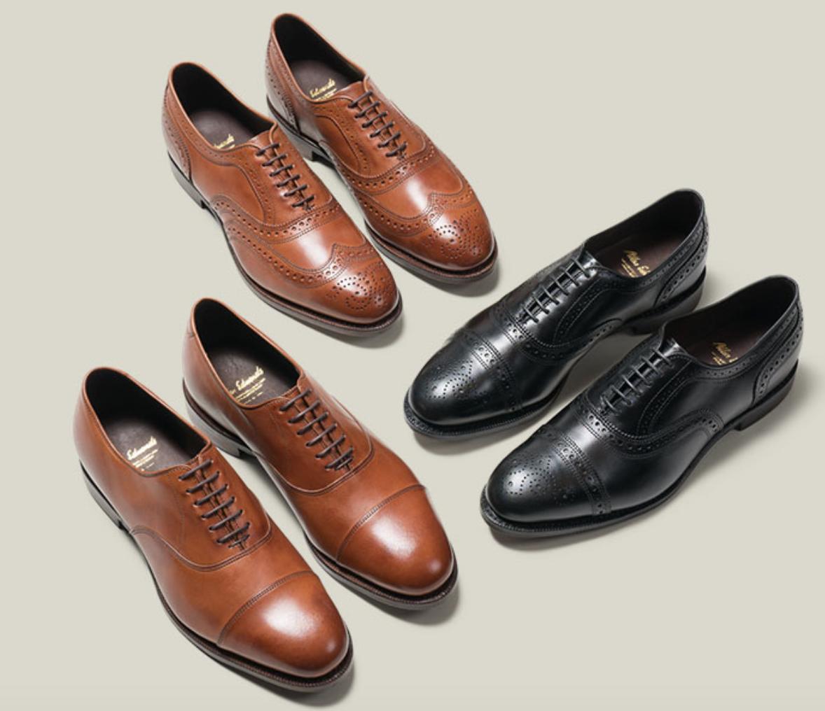 Mens Allen Edmonds Dress Shoes Carlyle Fifth Avenue Oxford