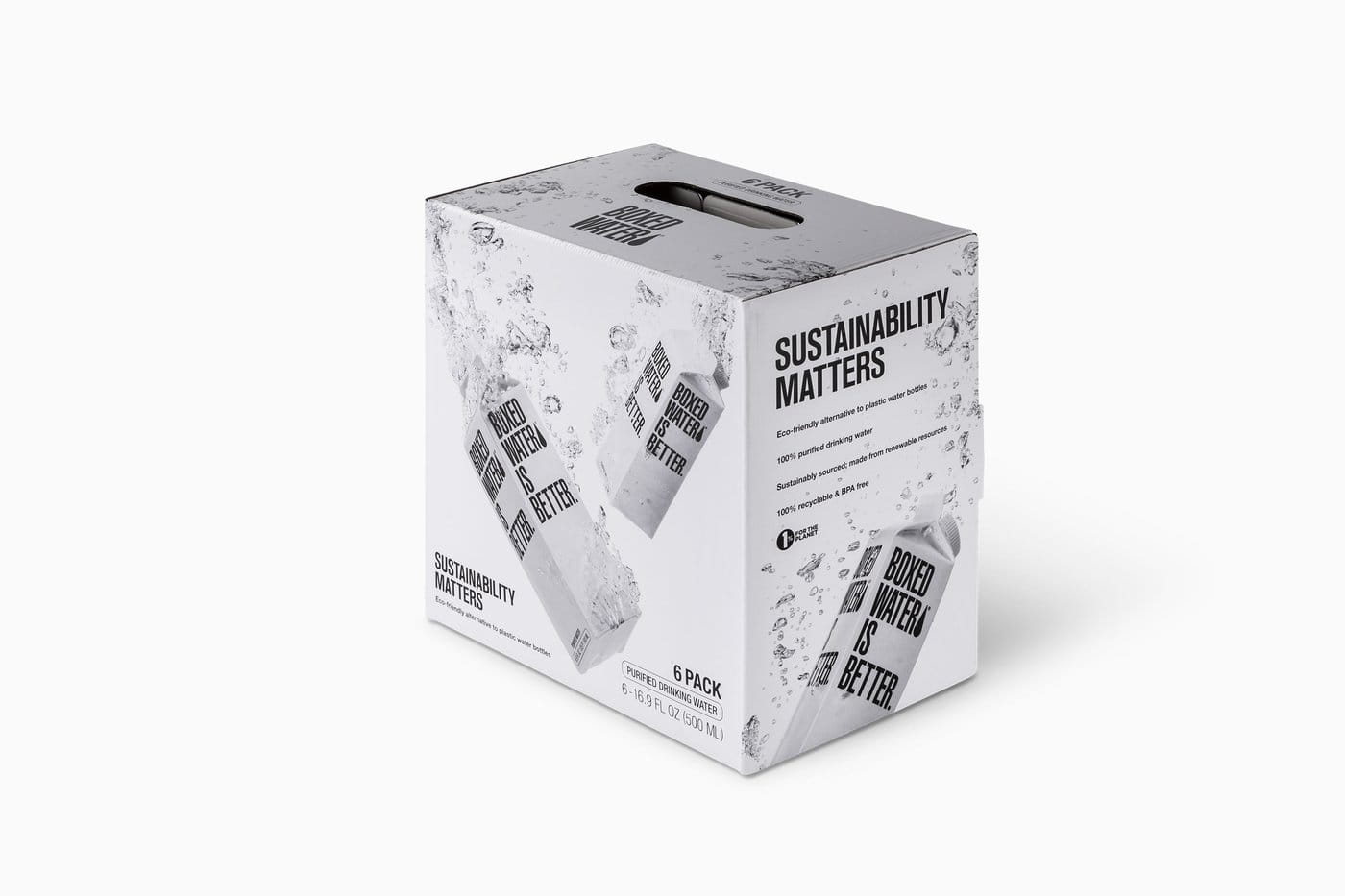 "Free 6 Pack of Boxed Water - ""Boxed Water Is Better"""