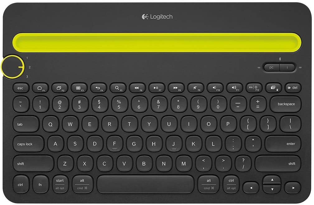 Logitech - K480 Bluetooth Multidevice Keyboard @ Best Buy $29.99