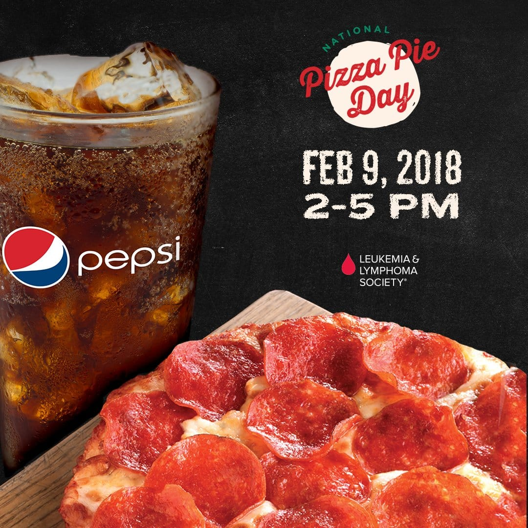 Roundtable Pizza - Free Personal Pizza w/ purchase of Pepsi fountain drink 2-5PM