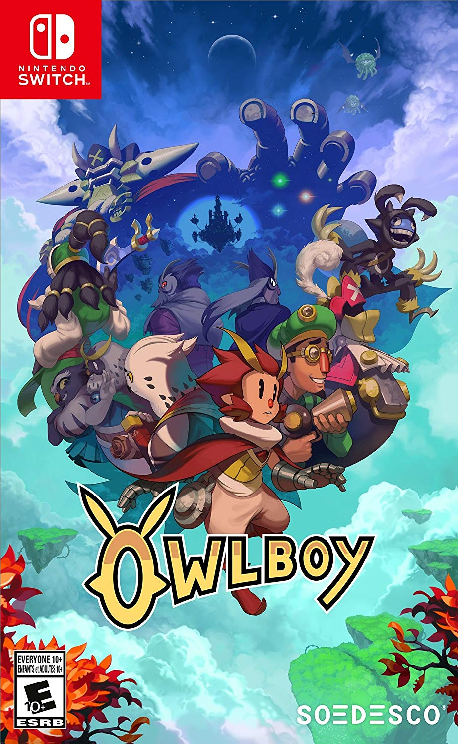 Physical Copy of Owlboy for the Nintendo Switch - $19.93 @ Amazon
