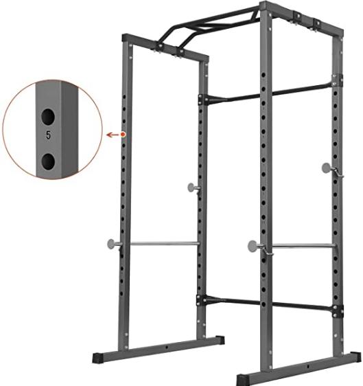 YMMV - Kicode Power Cage Squat Rack 1k lbs, $249.99 $279.99