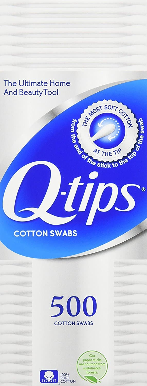 2000 Qtips as low as $8.67 w/ S&S Clipped Coupon Amazon - Q-tips Cotton, Swabs, 500 ct, 4 pack [500 ct 4 pack, Original] $8.67