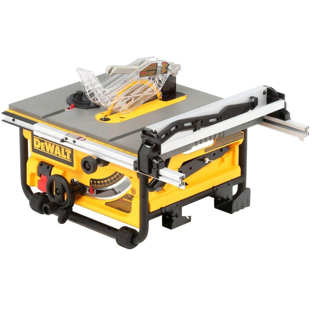 Dewalt Model Dw745 15 Amp 10 In Compact Job Site Table Saw 250 Fs At Hd