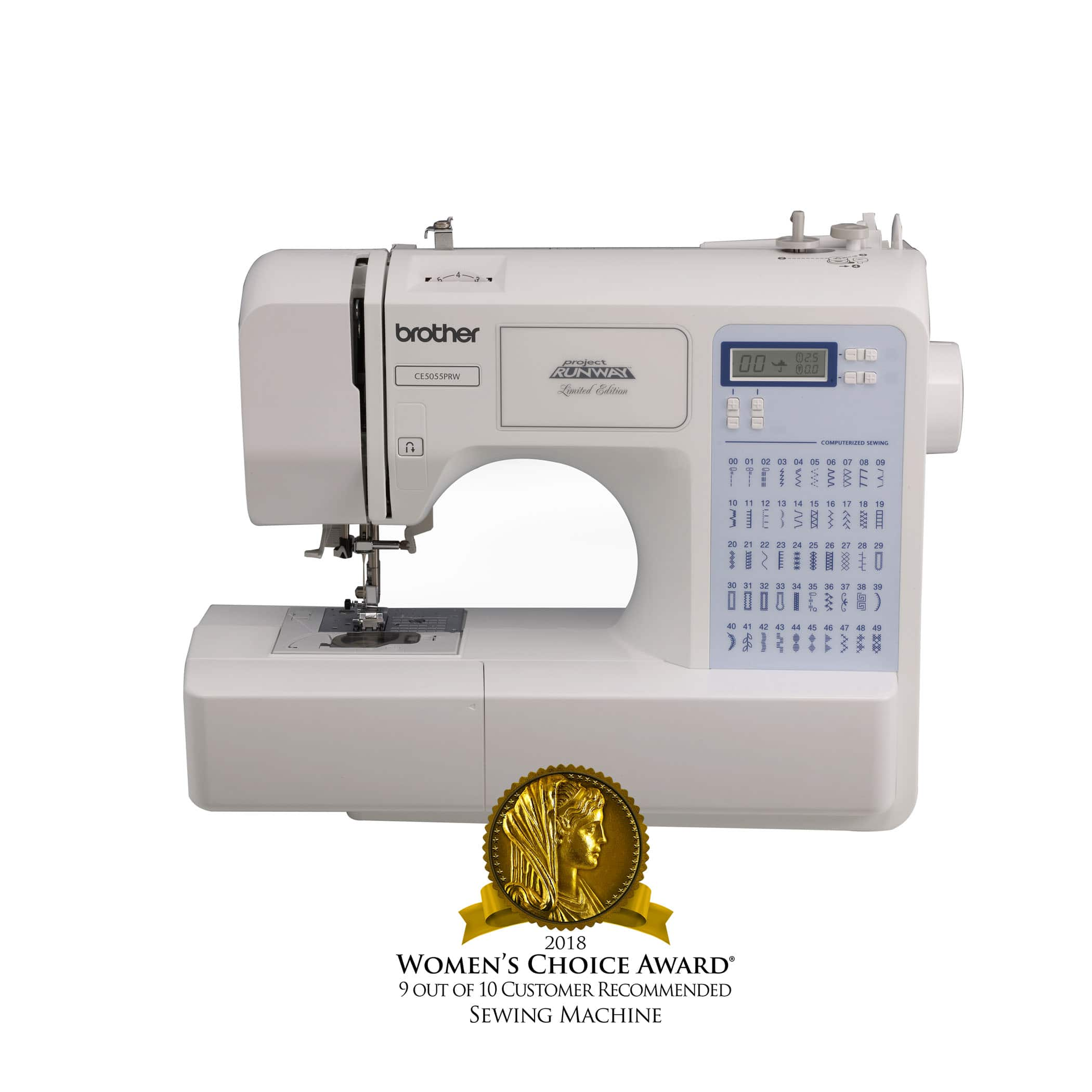 Brother CS5055prw 50-Stitch Project Runway Computerized Sewing Machine $94 at Walmart.com