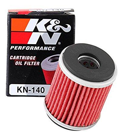 K&N Motorcycle oil filters, KN-140 Oil Filter $4.11, KN-141 $2.05, KN-136 $1.81