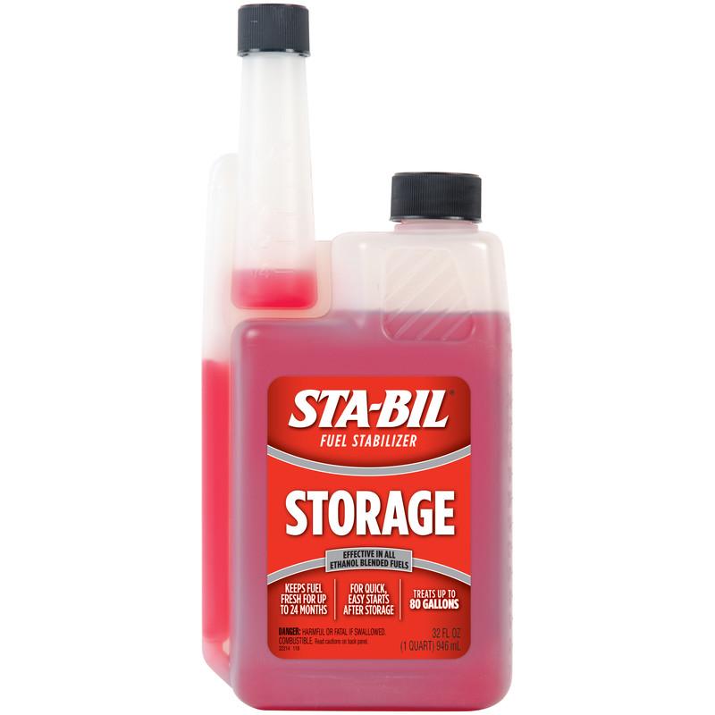 STA-BIL Stabil Storage Fuel Stabilizer for All Gasoline Engines, 32 fl oz $8.88