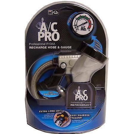 YMMV AC Pro A/C Pro® Professional Grade R-134a Recharge Hose & Gauge YMMV $0.25