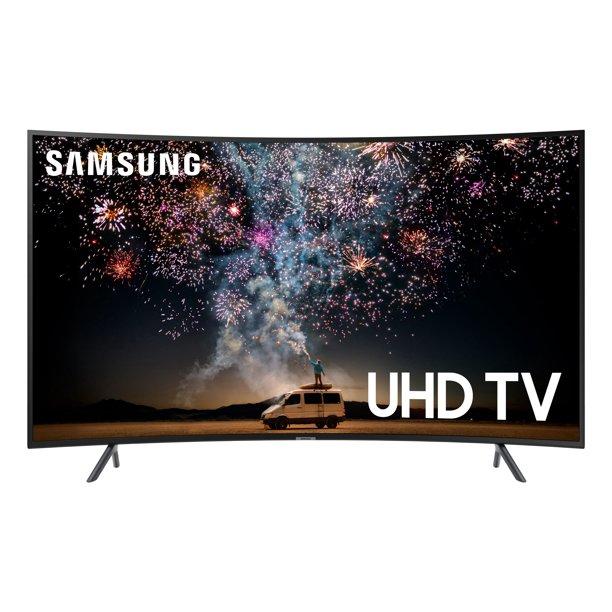 Refurbished SAMSUNG 55 Class 4K Ultra HD (2160P) HDR Smart LED Curved TV UN55RU7300 (2019 Model) $314.96
